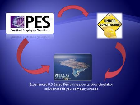 Experienced U.S Based Recruiting experts, providing labor solutions to fit your company's needs.