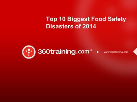 Top 10 Biggest Food Safety Disasters of 2014. Nevada Church Potluck Salmonella Outbreak Over 140 to 150 people got sick due to Salmonella infantis Site.