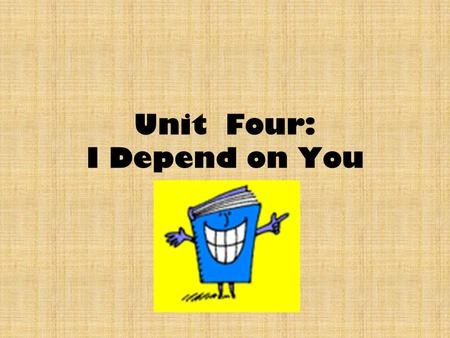 Unit Four: I Depend on You. What is Symbiosis? Any close relationship among species. Not all relationships among organisms involve food; many organisms.