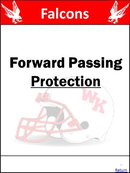 Forward Passing Protection Return 1 Falcons. 2 S PEPE QGQG PTPT PGPG QEQE Slide Protection Syracuse & Ohio NT M RW $ C CF E PGQTPTQG C QTQT HBHB FBFB.