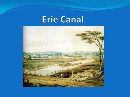 Background on the Canal