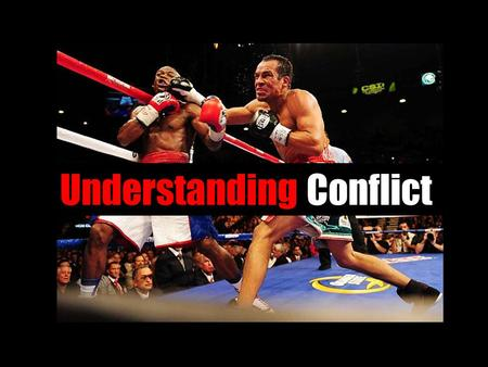 Understanding Conflict. 3.3 Analyze interactions between characters in a literary text by focusing on internal and external conflicts.