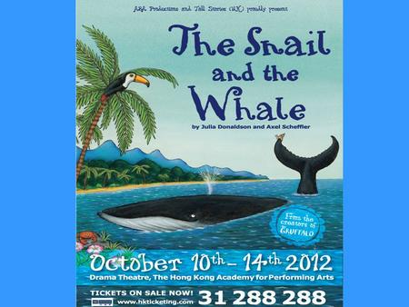 A group of P4-6 students and teachers from Bishop Walsh School went to see this play on Friday, 12th October.