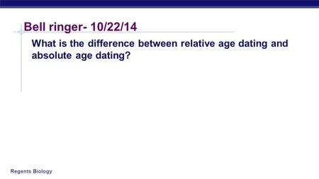 Explain the difference between numerical and relative dating