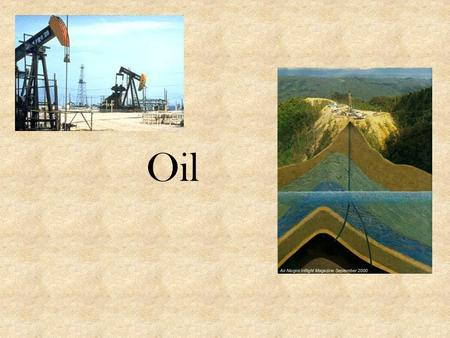 Oil. Oil is a primary energy resource in developed countries. It is a non-renewable resource, that is, one of limited quantity Used Oil is a Valuable.