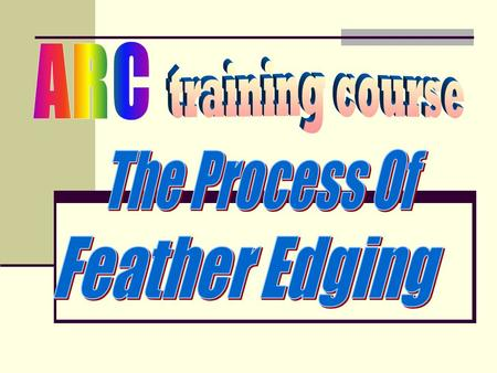 What is feather edging ? Improper Sanding Cleaning with silicon off.