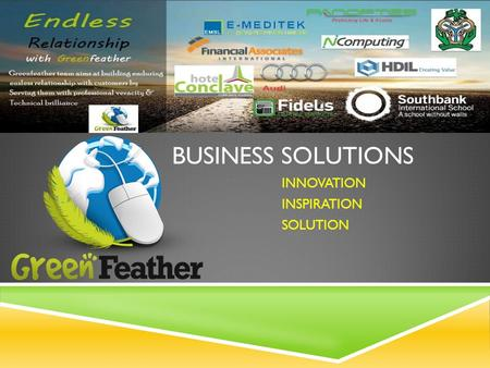 BUSINESS SOLUTIONS INNOVATION INSPIRATION SOLUTION.