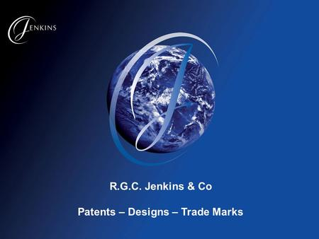 R.G.C. Jenkins & Co Patents – Designs – Trade Marks.