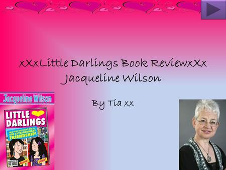 xXxLittle Darlings Book ReviewxXx Jacqueline Wilson