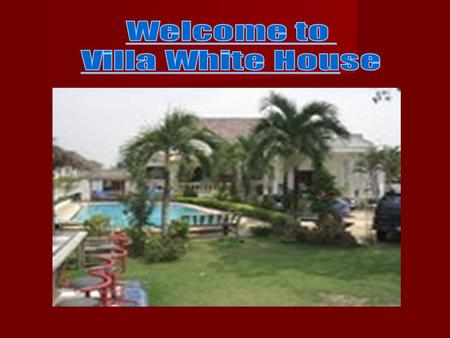 Main part of the Villa with separate entrance. 2 bedrooms 2 bathrooms king sized beds living room with big TV-Set DVD Player sitting area air cons each.