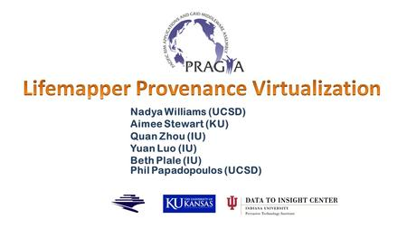 Lifemapper Provenance Virtualization