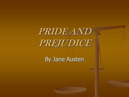 the subtle humor of jane austens pride and prejudice Of all the novels that jane austen has written, critics consider pride and prejudice to be the most comical humor can be found everywhere in the book in its character descriptions.