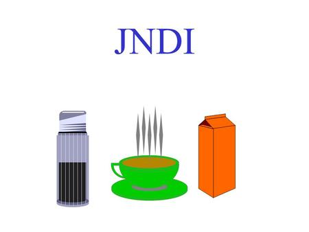 JNDI Java Naming Directory Interface JNDI is an API specified in Java that provides naming and directory functionality to applications written in Java.