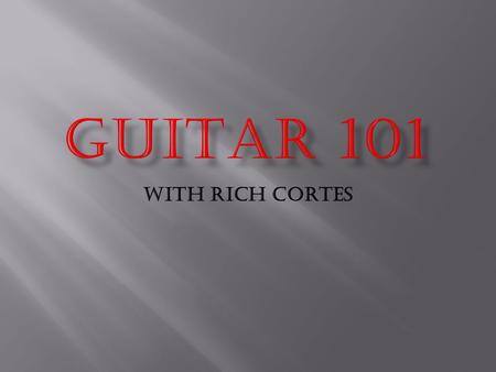 With Rich Cortes.       BA (Hons) Music Composition for Professional.
