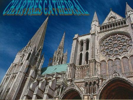 History of Chartres Cathedral  It is believed that a church has existed where the current church is since the fourth century  Due to fires, the church.
