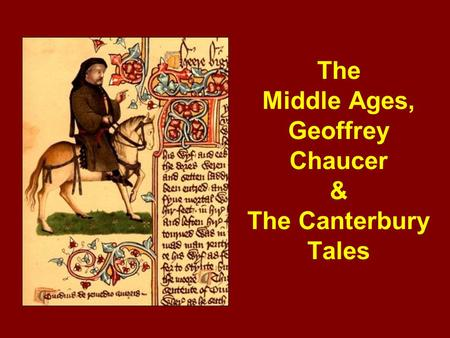 The Portrayal of Women in Chaucer's Canterbury Tales essay
