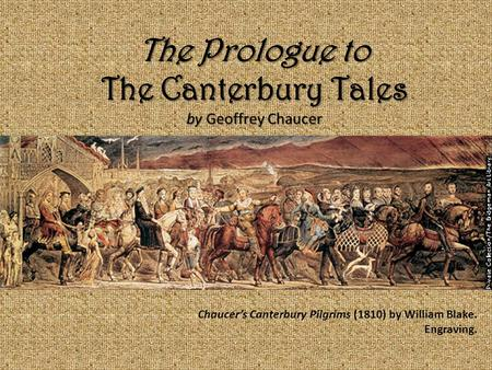 The Canterbury Tales by Geoffrey Chaucer: Synopsis