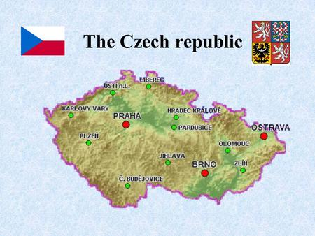 The Czech republic. Krkonose mountains Snezka Protected territory The Czech Paradise Slapy reservoirPravcicka gate.