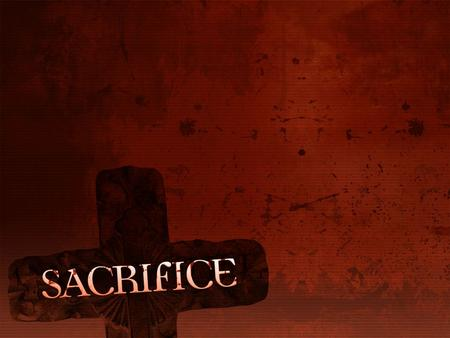 Understanding the Stewardship of Sacrifice Ownership? Who does it belong to?