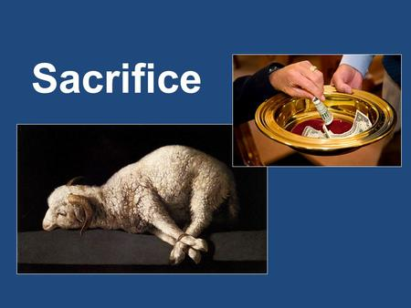 Sacrifice. Biblical Principles of Sacrifice 1.Must Be Acceptable To God – 1 Pet. 2:5; Lev. 22:19-25; Heb. 11:4 2.Must Cost Us Something – 2 Sam. 24:24;