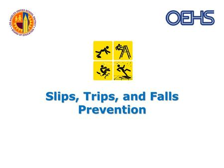 Slips, Trips, and Falls Prevention. Now what could go wrong here?????