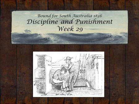 Bound for South Australia 1836 Discipline and Punishment Week 29 Hair cutting at sea. Edward Snell, 1849.