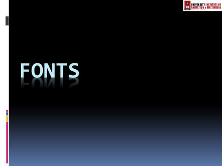 Types of fonts  1. OpenType Font :-OpenType Font  OpenType fonts are the current standard in fonts. In an OpenType font, both the screen and printer.