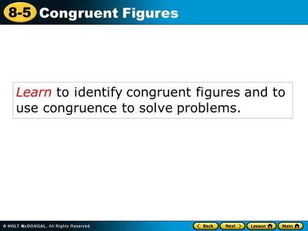 how to solve congruence tpair
