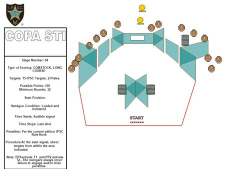 COPA STI START Stage Number: 04 Type of Scoring: COMSTOCK, LONG COURSE