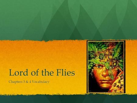 lord of the flies chapter 2 In chapter two of lord of the flies, ralph, jack, and simon return from their expedition and tell the group about it a small boy tells ralph that he has seen a snake-like beast and is afraid of it, though ralph brushes him off.