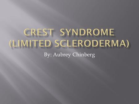 By: Aubrey Chinberg.  Scleroderma affects a person's skin, blood vessels, muscles and internal organs  It is an autoimmune disorder.  Autoimmune disorders.
