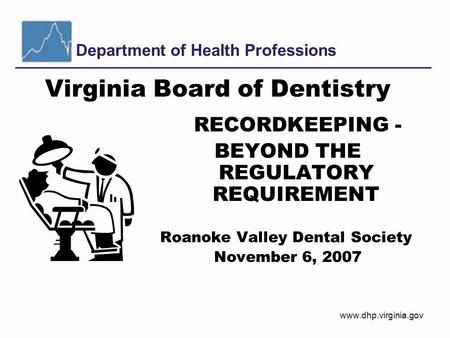 Virginia Board of Dentistry