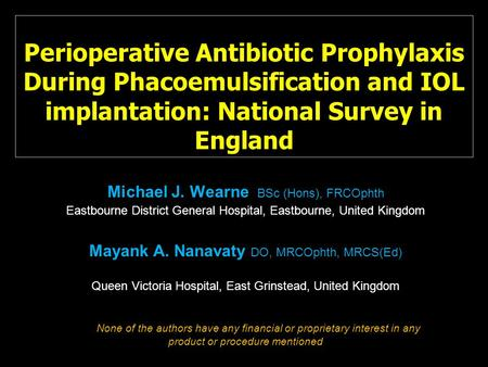 antibiotic prophylaxis colorectal surgery guidelines
