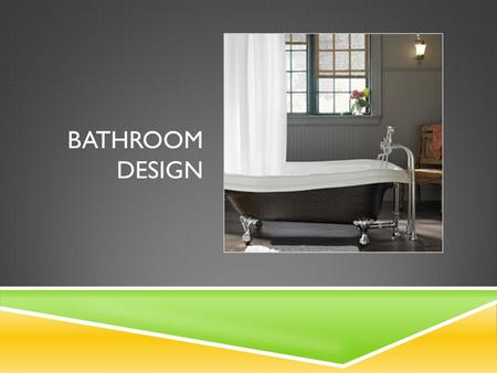 Bathroom Design.