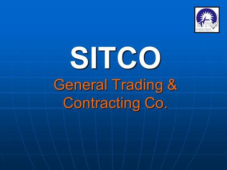 SITCO General Trading & Contracting Co. THE PROJECT THE PROJECT Hawally Staff Accommodation.