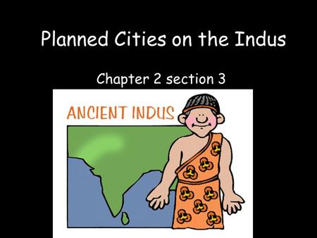 Planned Cities on the Indus