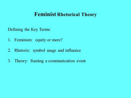 rhetorical theory I & ii presents a coherent rhetorical theory,  aristotle, on rhetoric a theory of civic discourse, newly translated, with introduction,.