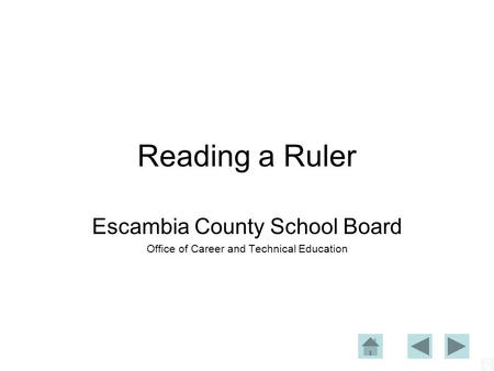 Escambia County School Board Office of Career and Technical Education