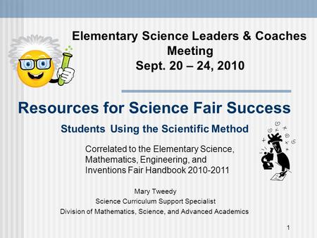 Elementary Science Leaders & Coaches