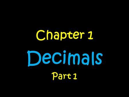 Dividing Decimals by Other Decimals Unit     Pages ppt download