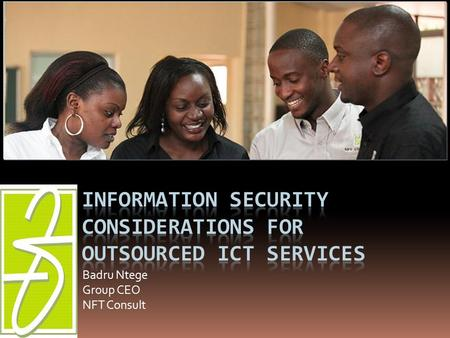 Information Security considerations for Outsourced ICT Services