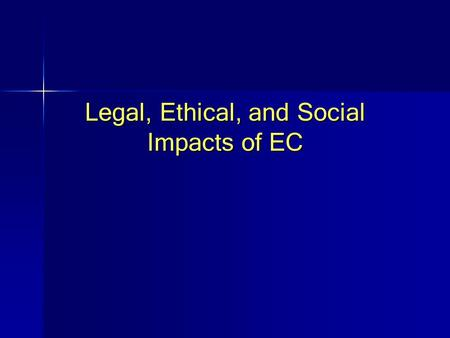 Legal, Ethical, and Social Impacts of EC. © Prentice Hall 20042 MP3.com, Napster, and Intellectual Property Rights The Problem Before the advent of the.