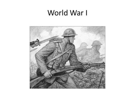 World War I. 5 Causes of WWI In your groups, reread the 5 Causes of WWI Discuss the information with your group In your note book, summarize each of.