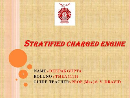 Stratified charged engine