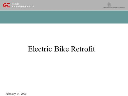 Electric Bike Retrofit February 14, 2005. 40~50 Mile Range LiFePO4 Bicycle Retrofit Under $500!! Retrofit can be performed in 10 minutes, no lie Use large.