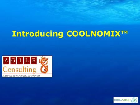 Introducing COOLNOMIX™