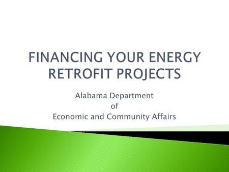 bdl environmental loans ppt