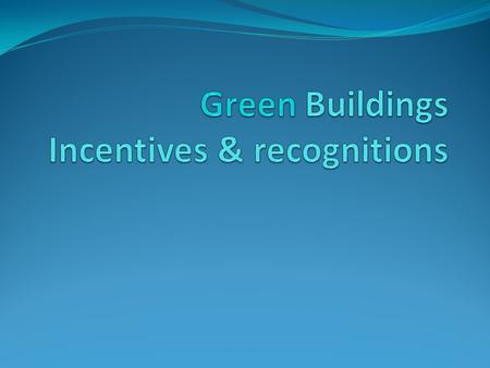 Administered by MND/BCA TypeProgrammeDetailsTimelineTake-up rate RecognitionGreen Mark Scheme A green building rating system to evaluate a building for.