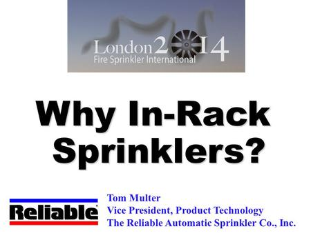Why In-Rack Sprinklers?