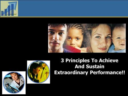3 Principles To Achieve And Sustain Extraordinary Performance!!